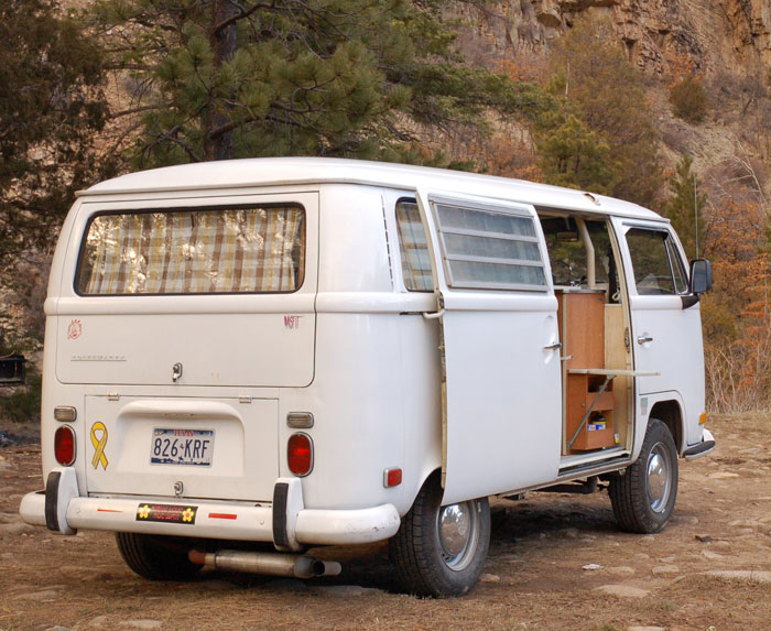 My 1971 VW Westfalia Bus